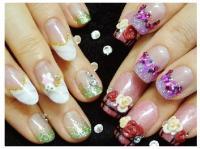 Peach Nail