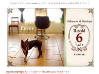 【 渋谷 RooM6 hair 】  ルームシックス ヘア